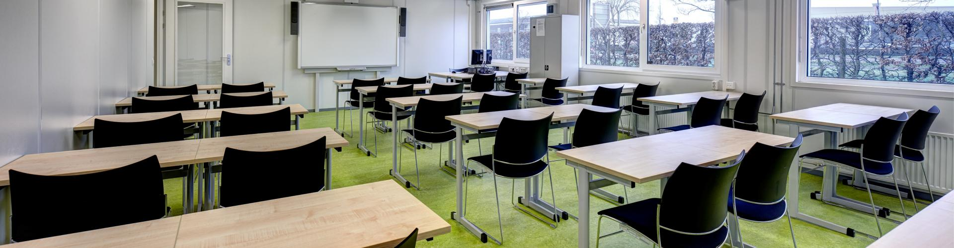 Schooltafels en schoolstoelen HZ University of Applied Sciences