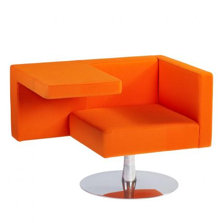 Offecct Solitaire fauteuil oranje