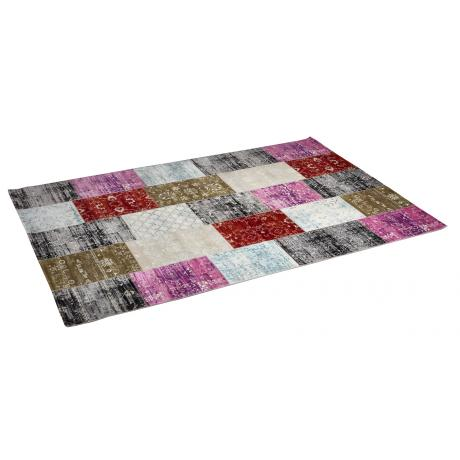 Vloerkleed Patchwork Multicolor