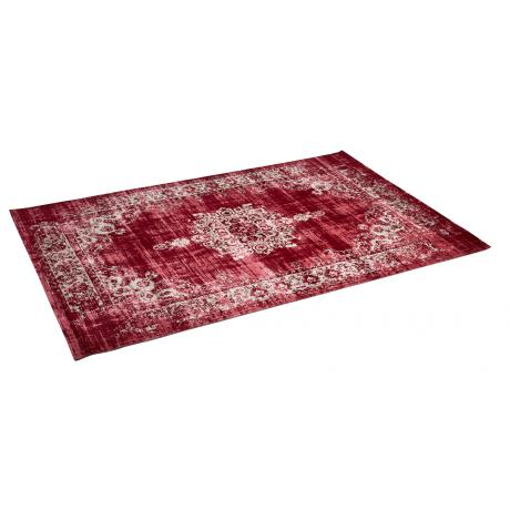Vloerkleed Medaillon Dark Red