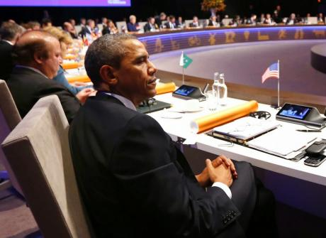 Barack Obama op de AVL Chair